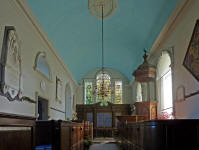 Avington Church, Interior, Hampshire